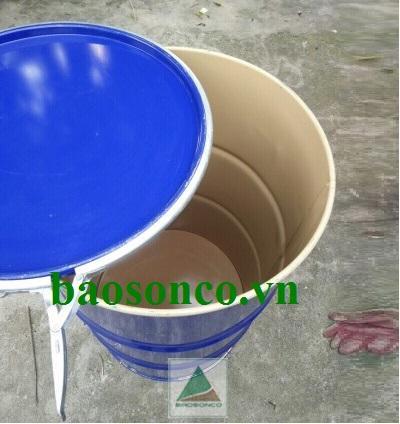 Thùng phuy sắt 220 lít tráng men epoxy
