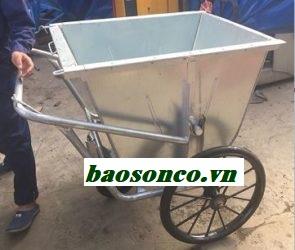 Xe rác 450 lít bằng tôn