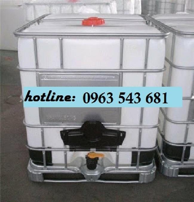 Tank nhựa IBC 1000 lít chính hãng