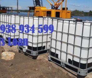 Tank nhựa vuông 1000 lít
