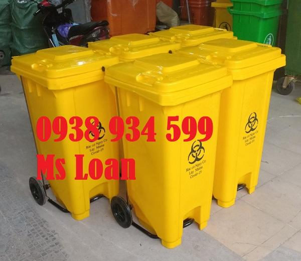 Thùng đựng rác nhựa công công