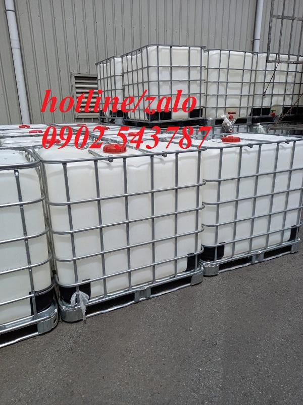 thùng nhựa 1000 lít