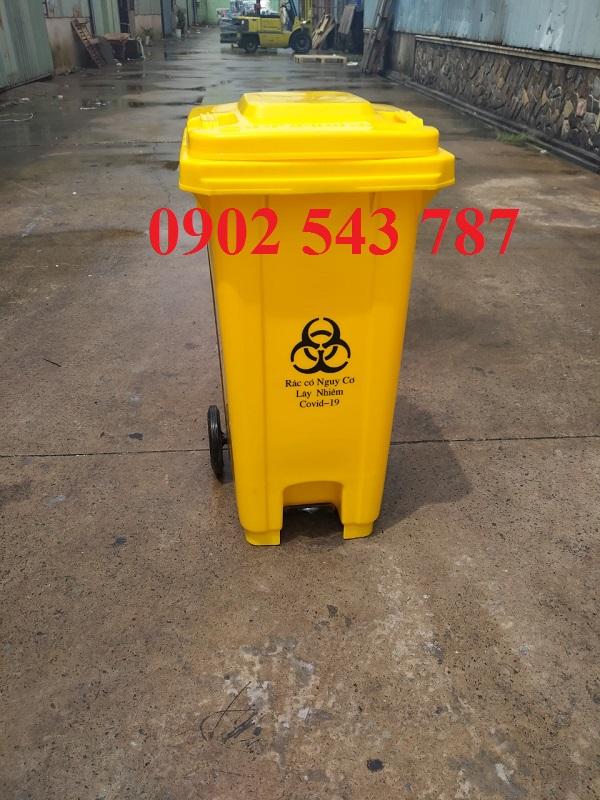 chứa chất thải có nguy cơ nhiễm SARS-CoV-2