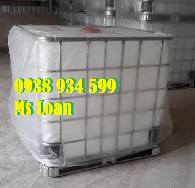 Tank nhựa ibc 1000 lít mới