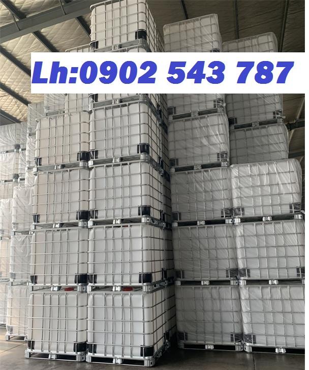 Thùng nhựa IBC 1000 lít