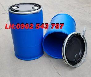 Thùng phuy nhựa 220 lít nắp hở