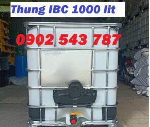 Thùng IBC 1000 lít vuông